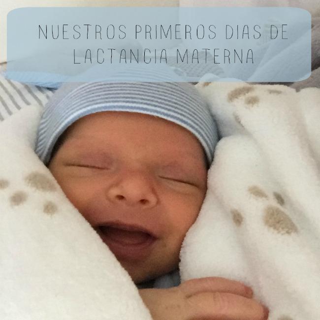 primeros dias lactancia materna