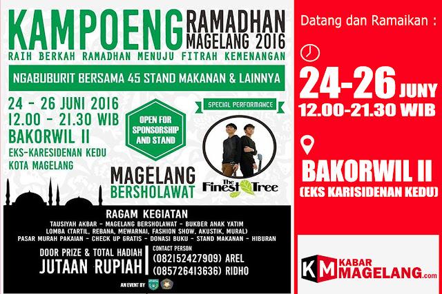 kabarmagelang,koerma,magelang,acara ramadhan di Magelang
