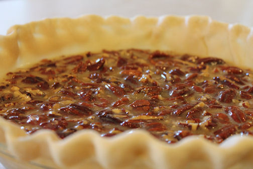 The Unbaked Pecan Pie