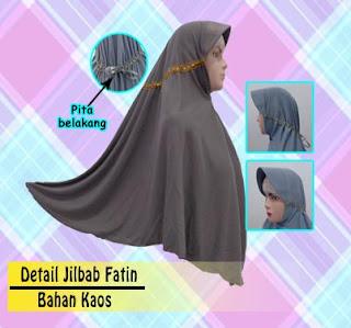 Grosir jilbab bahan kaos polos murah meriah