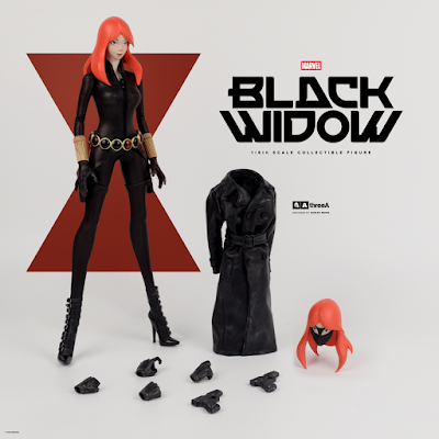 Marvel x ThreeA Black Widow 1/6 Scale Collectible Figure by Ashley Wood