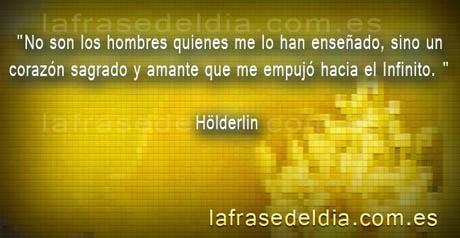 Citas de amor de Hölderlin