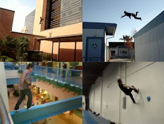 Entretanto quando comecei assistir o vídeo cheguei a pensar que era uma  exibição de skates. Ele consegue fazer inúmeras acrobacias impressionantes 784c882b92f