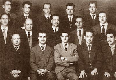 Equipo del Club Ajedrez Granja de 1956