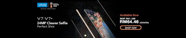 vivo, vivo v7+, senheng, senq,Pelancaran Smartphone Vivo V7+ di Senheng/SenQ