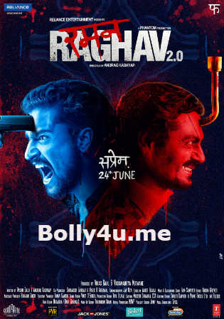 Raman Raghav 2.0 2016 BluRay 400MB Full Hindi Movie Download 480p Watch Online Free bolly4u