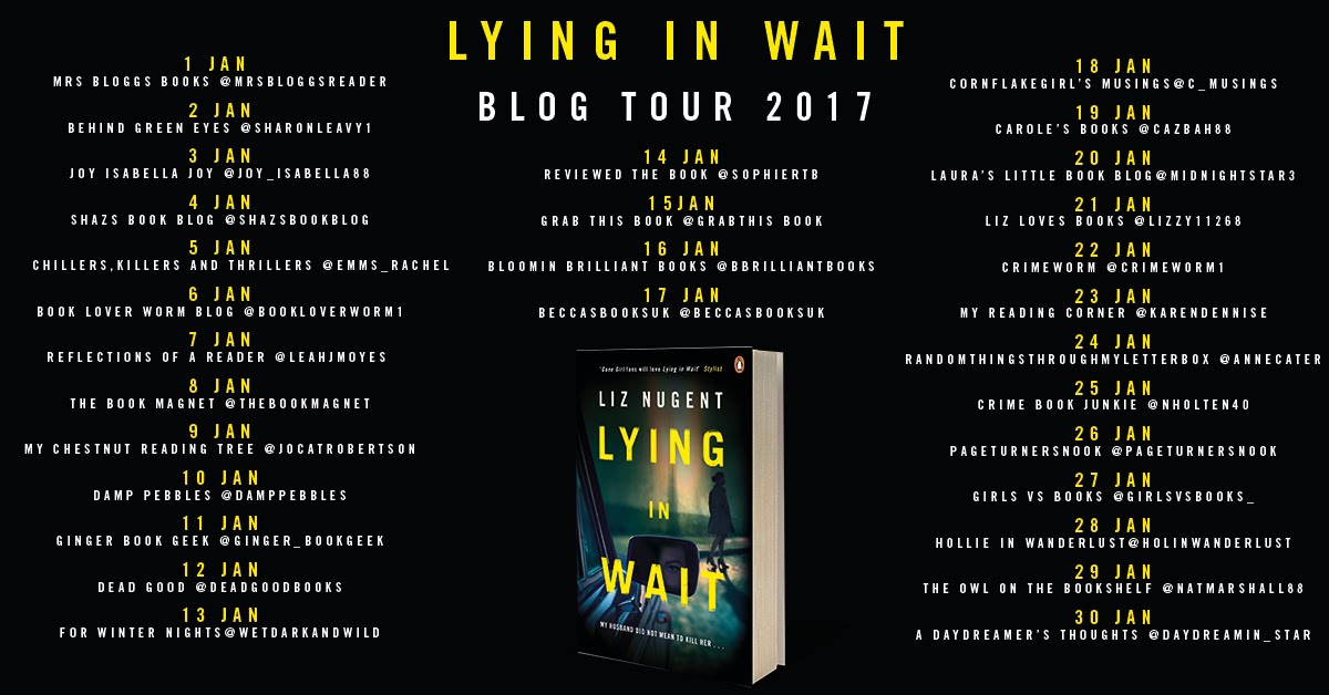 LYING IN WAIT BLOG TOUR 2017