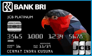 BRI JCB Card Platinum