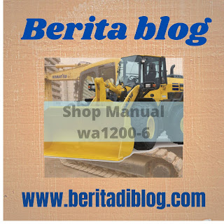 Wheel loader wa1200-6 service repair manual