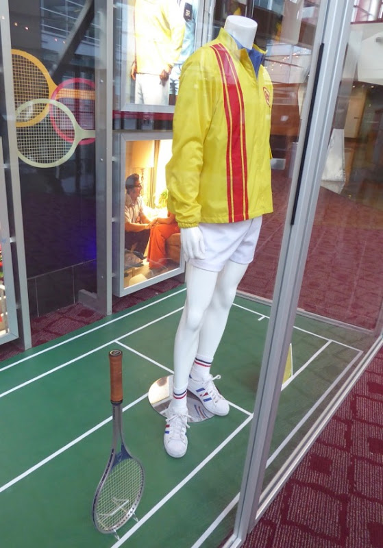 Battle of Sexes Bobby Riggs film costume racquet