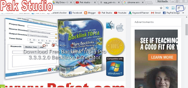 Pak Studio Google Chrome Extension Free Download