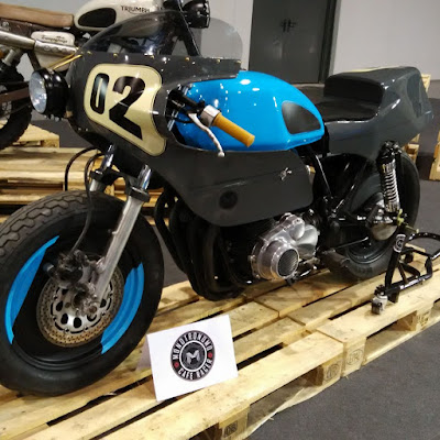 "Suzuki GS 850  Endurance ""Honey Rider"" by Monotronomo"
