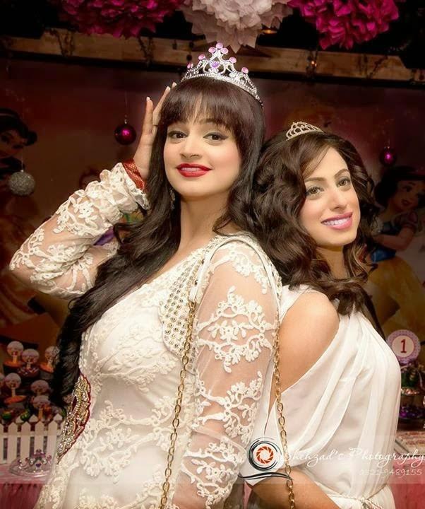 Pakistani Celebrity Noor's Daughter Birthday Pictures