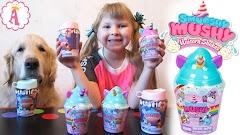 Единороги Smooshy Mushy S3 и десертики S4 с игрушками антистресс: ароматные сквиши животные для детей