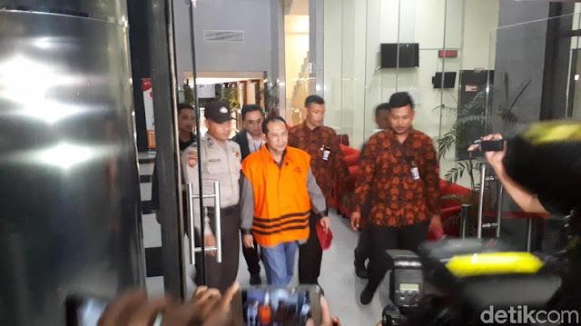 Ditahan KPK, Hakim PN Jaksel Iswahyu Widodo Bungkam