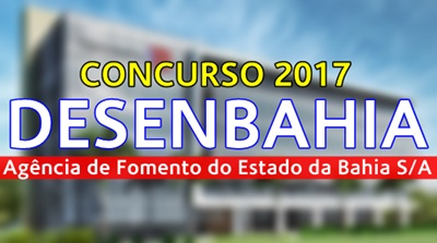 Apostila concurso Desenbahia 2017
