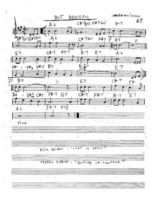 Partitura Trompeta Van Heusen and Burke