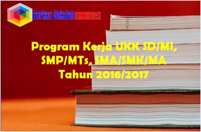 Program Kerja UKK SD,MI,SMP,MTs,SMA,SMK,MA Tahun 2016/2017