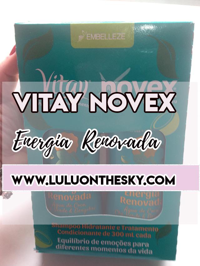 Shampoo e Condicionador Vitay Novex Energia Renovada - Embelleze