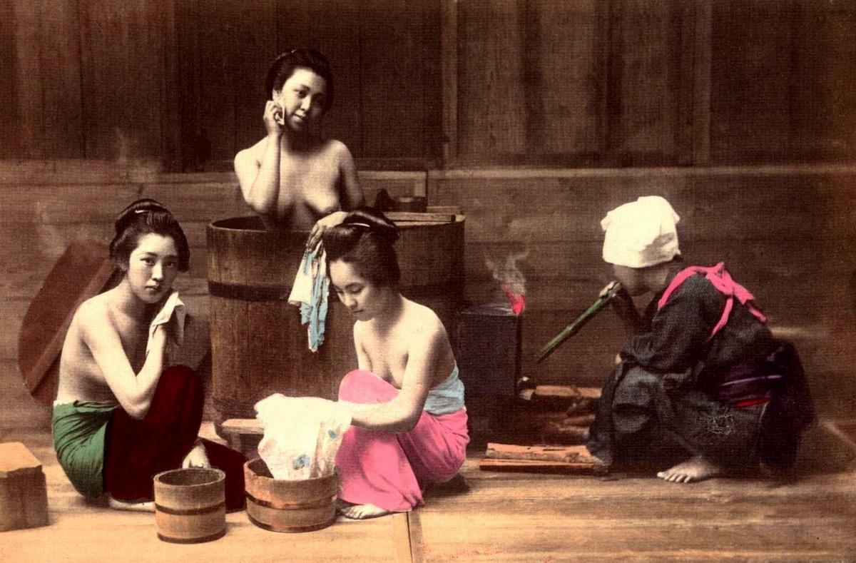 Color Photos of Life in Japan in the Late 19th Century ...