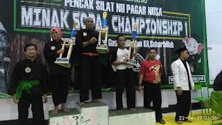 Kejuaraan Minak Sopal I, Pagar Nusa Pati Borong Lima Medali