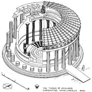 ilustración del thólos