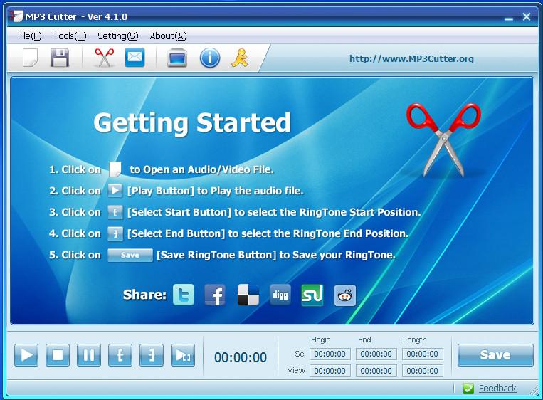 MP3 Cutter v4.3.0 Full version