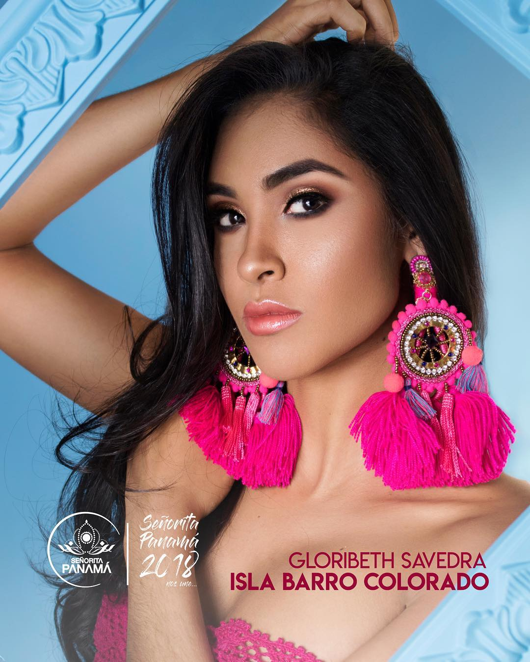 señorita miss colombia 2018 candidates candidatas contestants delegates Miss Barro Colorado Gloribeth Saavedra