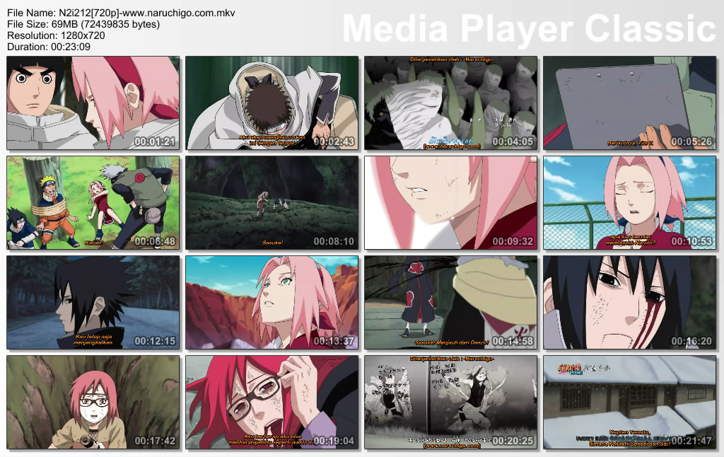 Naruto shippuden: the assembly of the five kage episode 202.