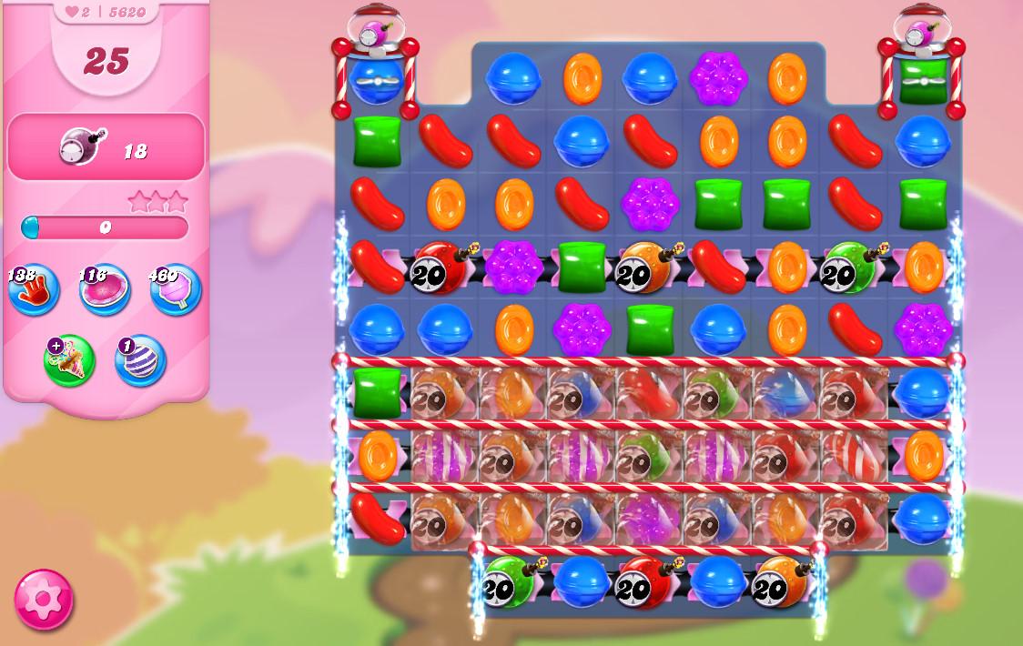 Candy Crush Saga level 5620