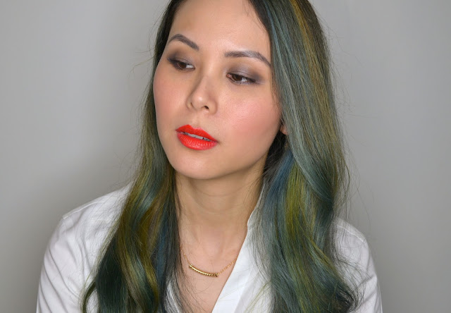 Maison Jacynthe Makeup Look Red Lip