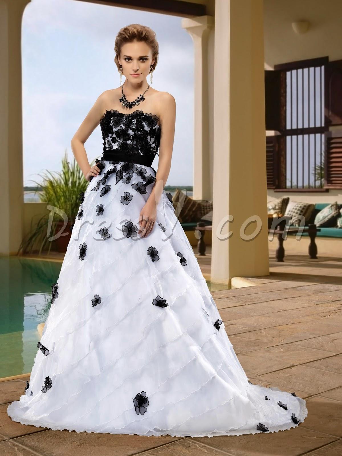 Color Wedding Dresses From Dressv