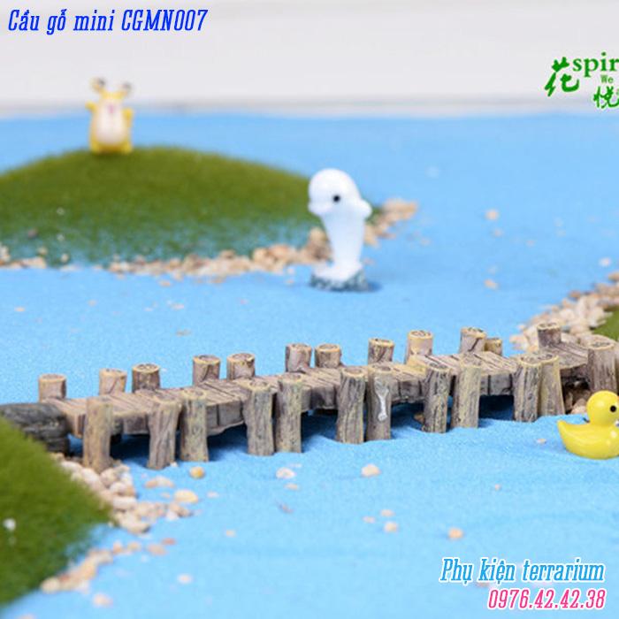 Cau go mini CGMN007