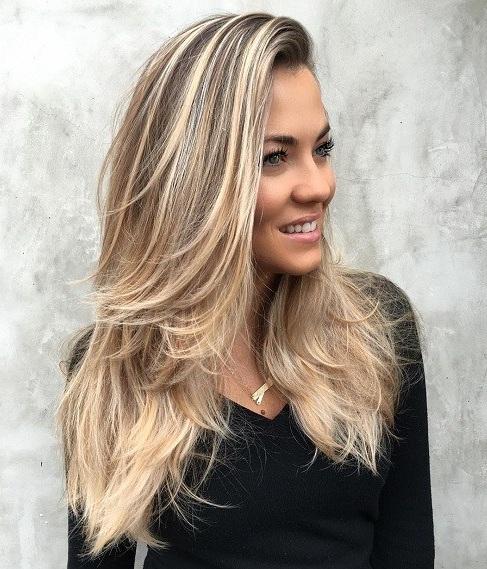 Haarschnitte Ideen Frisuren Für Lange Glatte Haare Anthillznet