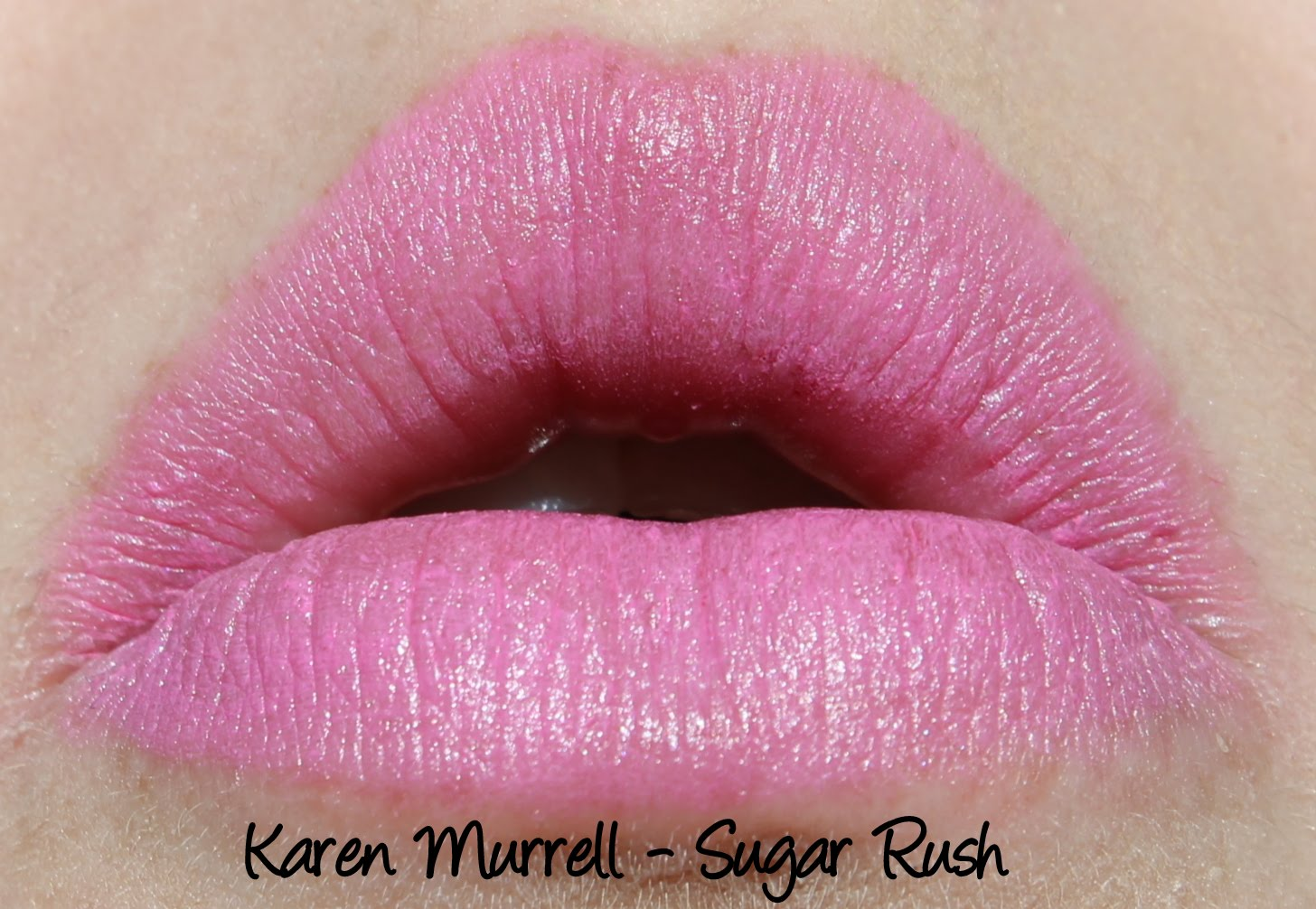 Karen Murrell Sugar Rush Lipstick Swatches & Review