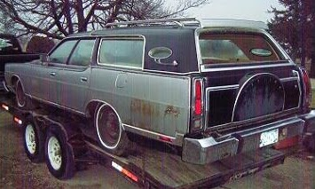 Lincoln Made A Station Wagon Wow That Is A Big Ugly Beast