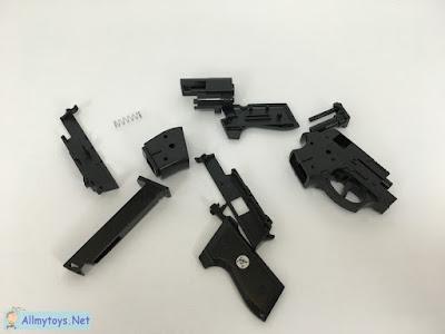 Assembling Pistol toy gun