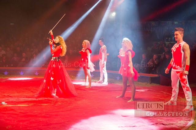 violon et ballet du Cirque Knie