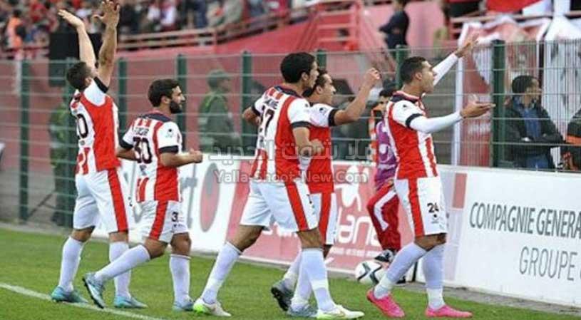 الفتح الرباطي يحقق انتصار صعب في اخر الدقائق على فريق مولودية وجدة في الدوري المغربي
