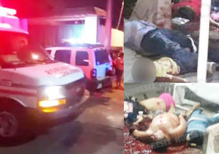 Bestial masacre en Minatitlán: Comando armado irrumpe en fiesta y deja 13 ejecutados.