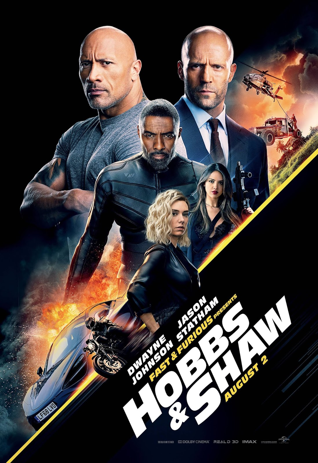 Fast & Furious Presents: Hobbs & Shaw (2019) Hindi BluRay 480p 720p 1080p Dual Audio [हिंदी DD5.1 + English]