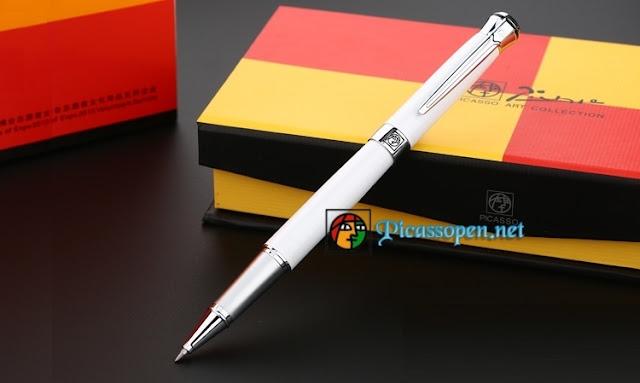 Bút dạ bi Picasso Pimio 903 màu trắng