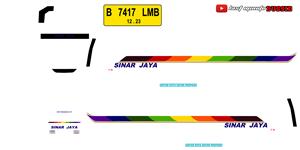 Livery Sinar Jaya Discovery Wsp Mod