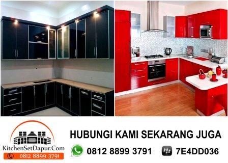Tukang kitchen set cibubur depok hub 0812 8899 3791 bb for Harga pembuatan kitchen set per meter