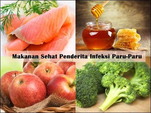 Makanan Untuk Penderita Infeksi Paru-Paru (Rekomendasi Pengobatan)