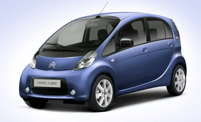 Citroen C-Zero electric car