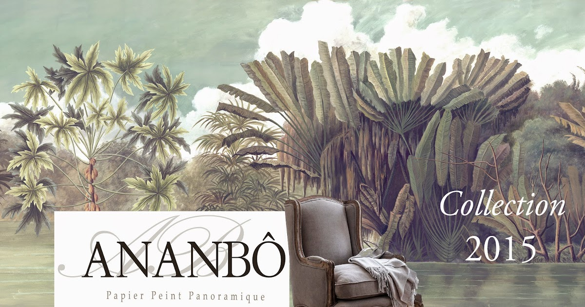 ananb papier peint panoramique ananb la collection 2015. Black Bedroom Furniture Sets. Home Design Ideas