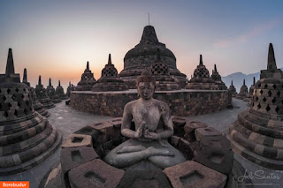 Photo: Borobudur Temple, Indonesia