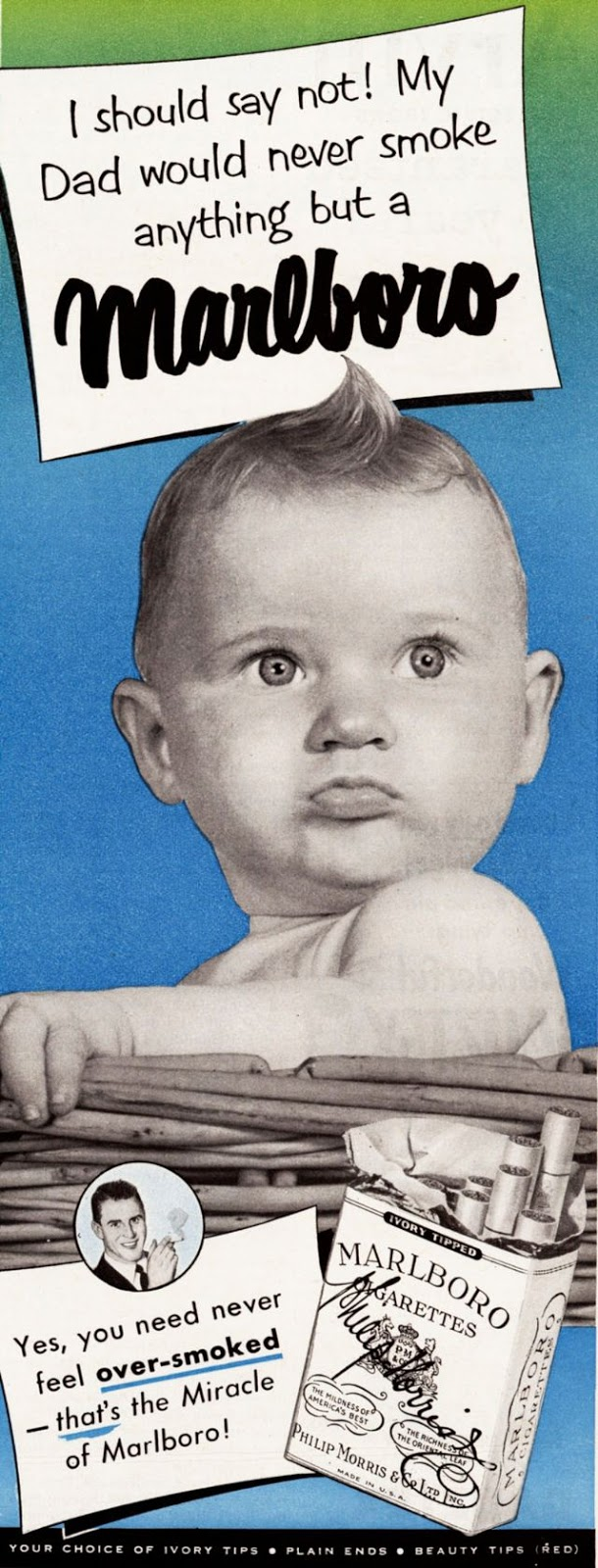 Babies In Vintage Cigarette Ads Vintage Everyday