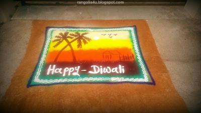 Rangolis for Diwali Festivals